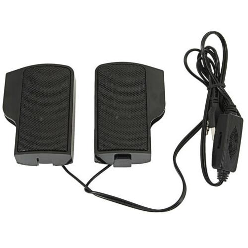 2pcs High Wall-mounted Speakers For Laptop