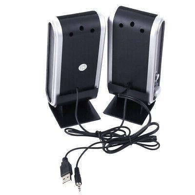 2X Black Multimedia USB System Laptop NEW