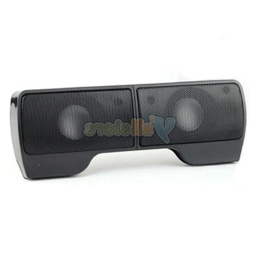 3.5mm Speaker Hanging/Stand Volume Control for Universal PC