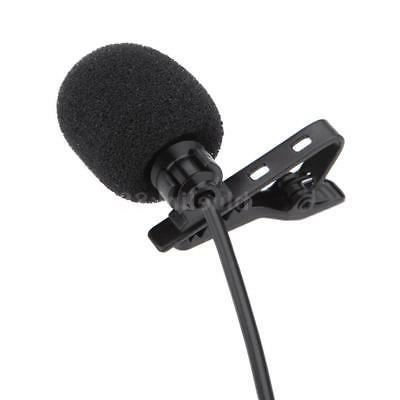 3.5mm Lavalier Clip Metal Mono Microphone Speaker