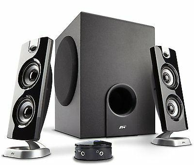 Cyber Acoustics 30 Watt Powered Speakers w/ Subwoofer for PC