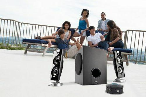 Cyber Acoustics Powered Speakers with Subwoofer for and Gaming