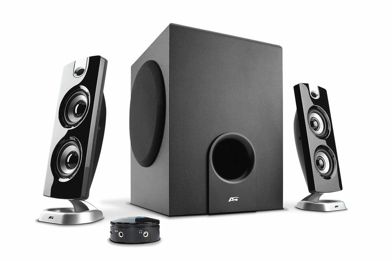 30 watt powered speakers with subwoofer