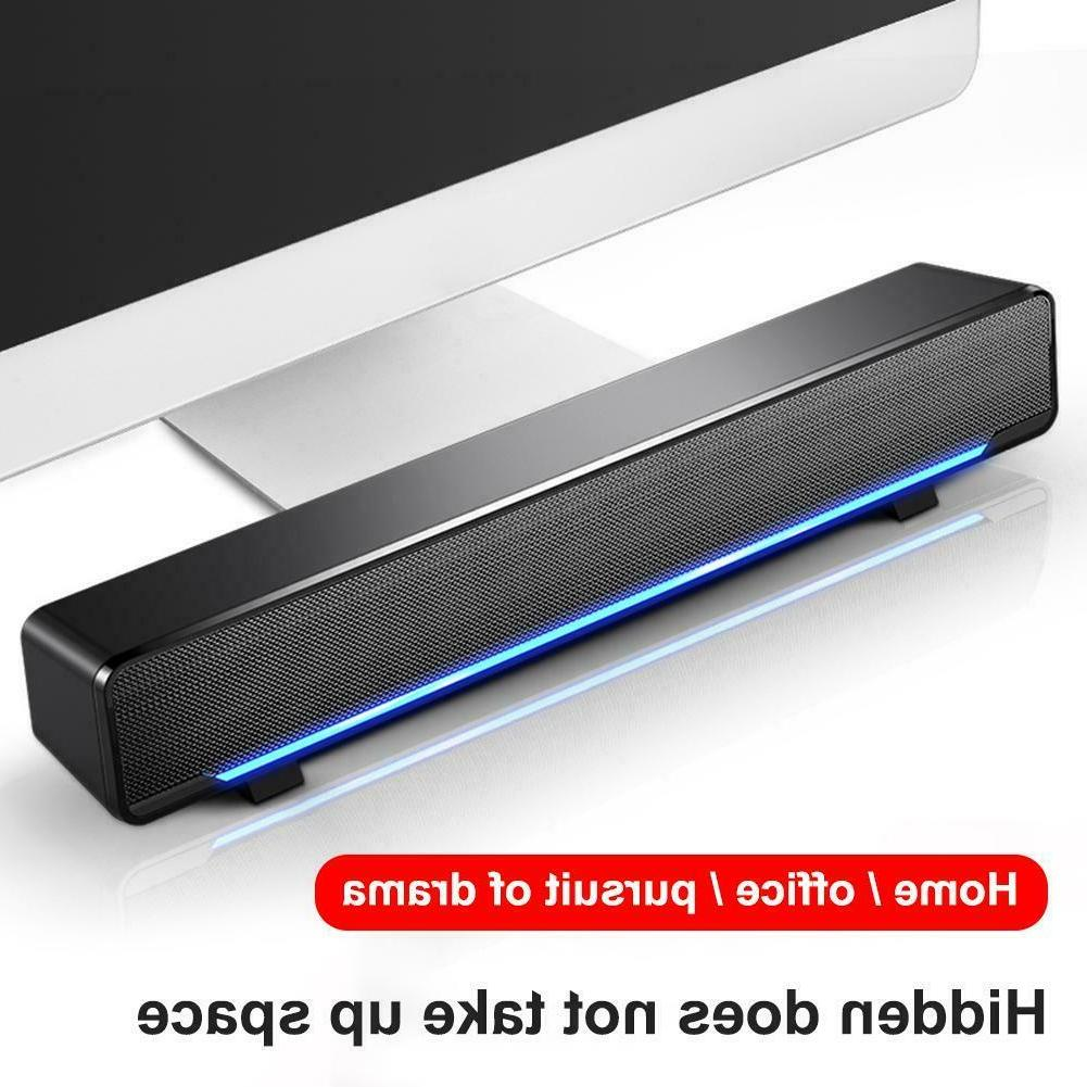 3W USB Multimedia Stereo Speakers PC Laptop
