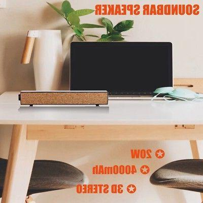 4000mAh INSMA Speaker Bluetooth PC Laptop Desktop