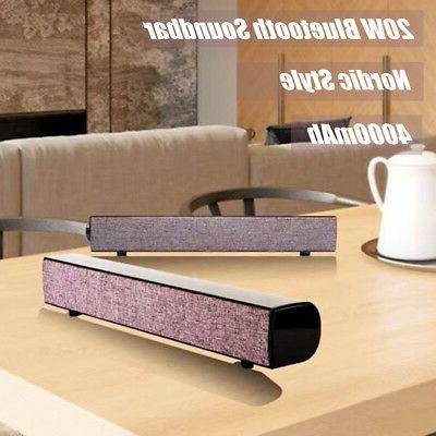 4000mAh Wireless Speaker Desktop