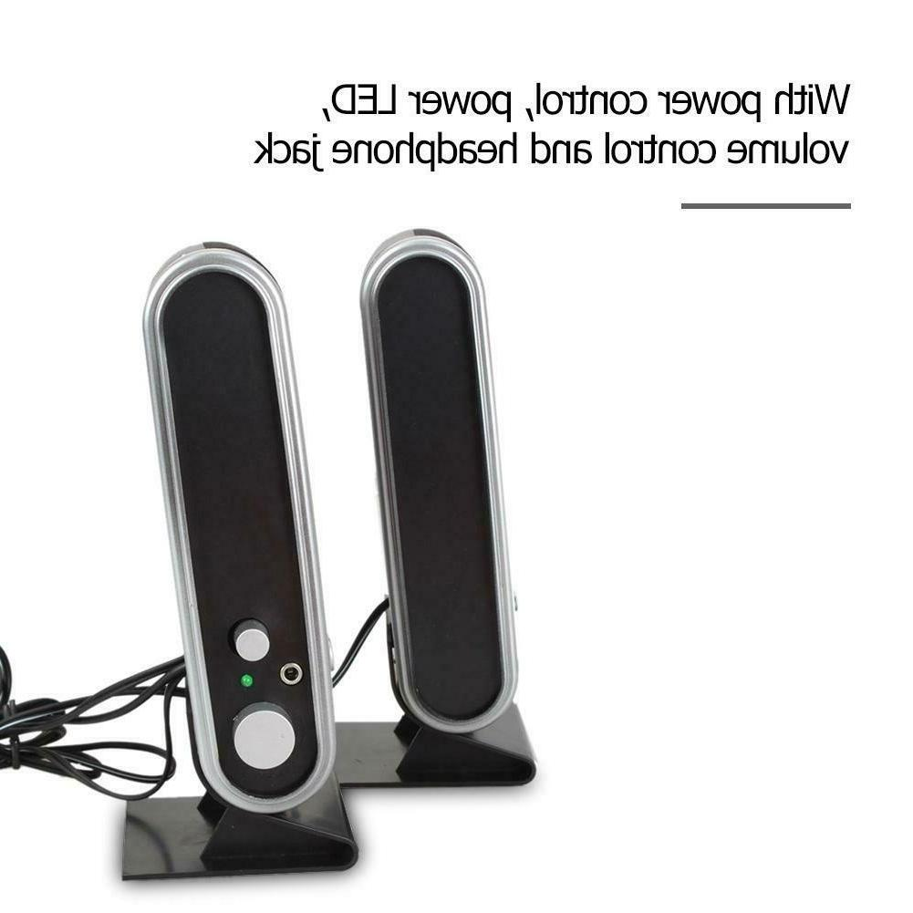 6W Power Speakers for Laptop Desktop
