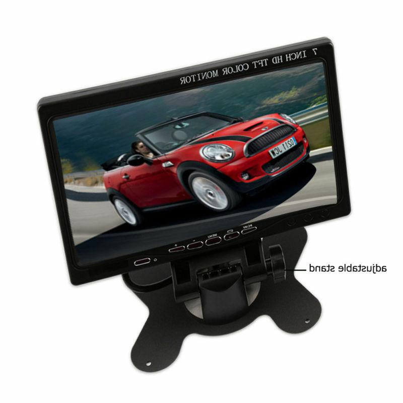 "7"" Monitor HD AV/VGA/RCA/HDMI 1024*600 w/ Speaker"
