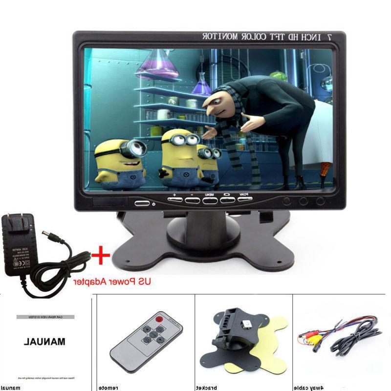 "7"" inch AV/VGA/RCA/HDMI Video w/ Speaker"