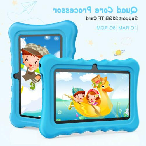 "7"" Kids Android 8.1.0 2MP Dual Built-In"