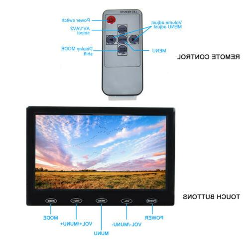 """7"""" Monitor HD HDMI Touch PC Security Camera"""