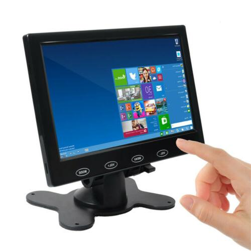 """7"""" Monitor HDMI Touch Key PC Security"""