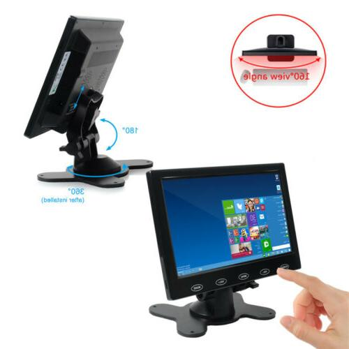 """7"""" Monitor HD AV HDMI Speakers Touch PC Security"""