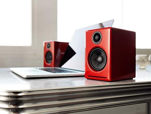 Audioengine A2+ Limited Premium Desktop Speaker Package DS1 Speaker Stands