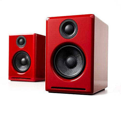 Audioengine A2+ Edition Premium Package with Speaker Stands