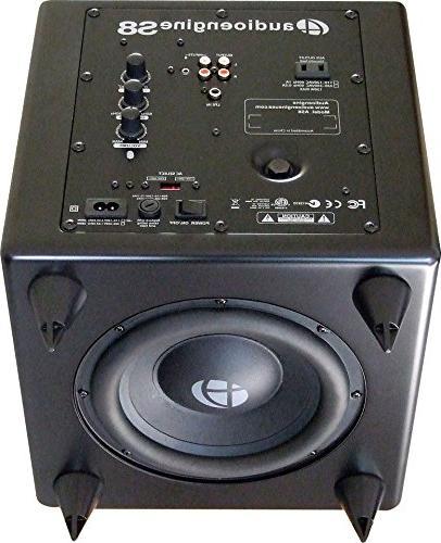 Audioengine Powered & Subwoofer Bundle - Black