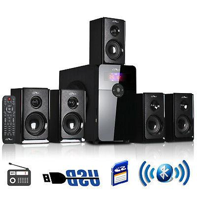 Befree Sound - Powered Wireless Speaker System - Black