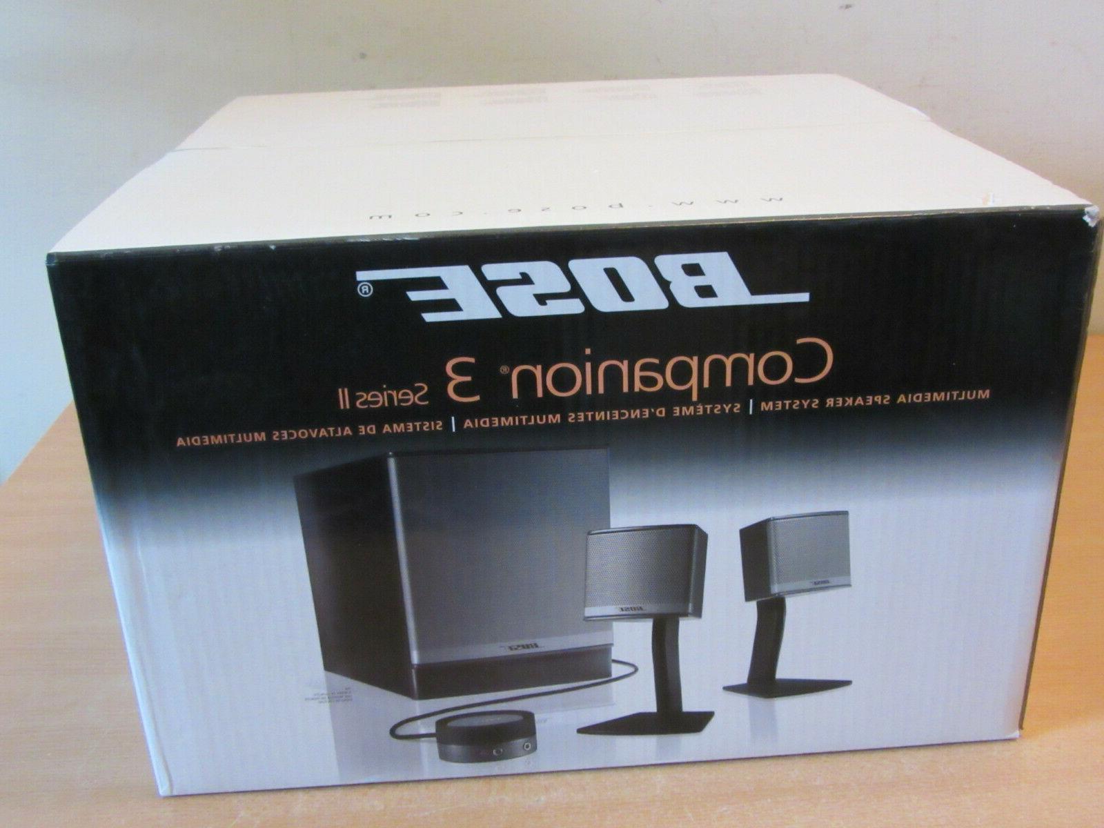 Bose 3 II multimedia speaker system