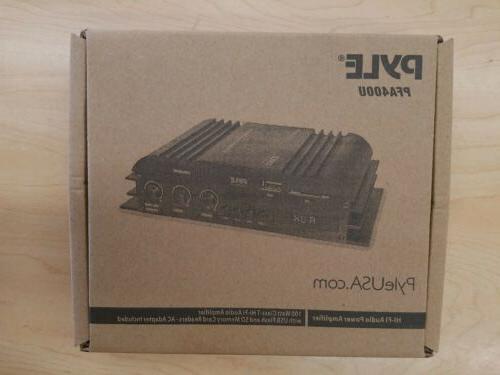 Class-T HiFi Power Audio Amplifier - 100W Dual Channel Surro