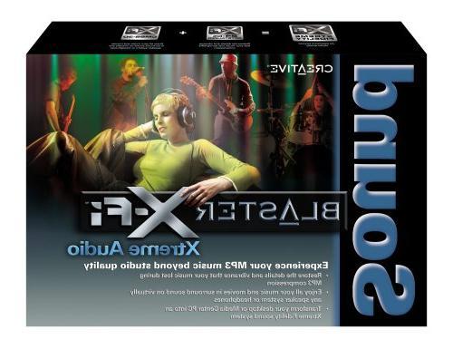 Creative Sound X-Fi Audio Sound