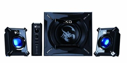Genius SW-G2.1 2000 Channel Gaming Woofer for Android, Tablets, Laptops, PC