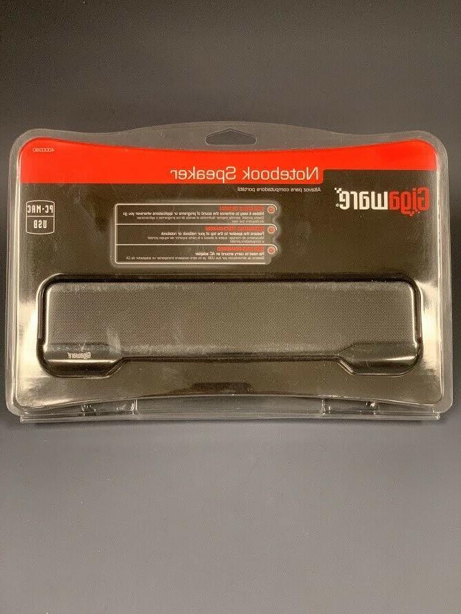 Gigaware USB Laptop Speaker