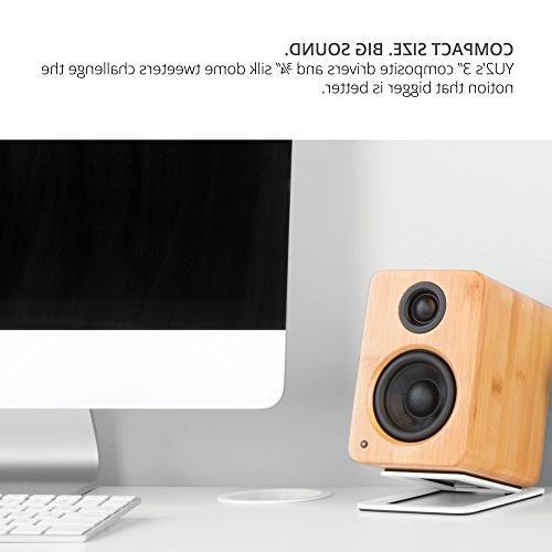 Kanto Desktop Speakers – Driver Tweeter – Matte Black