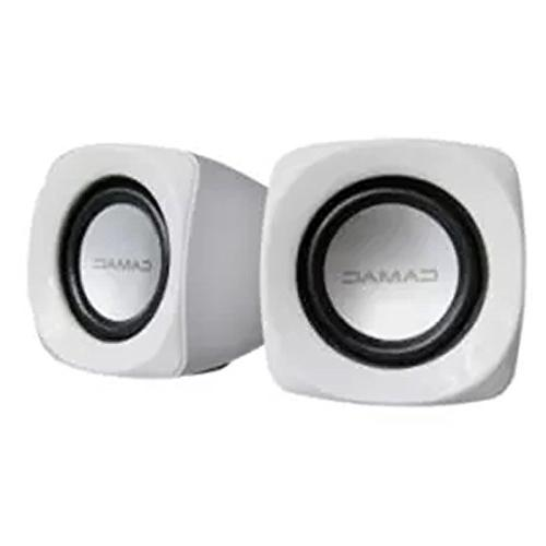 Portable Powered Small Mini Speakers Stereo Clear Music Aux for Movie Mac Laptops