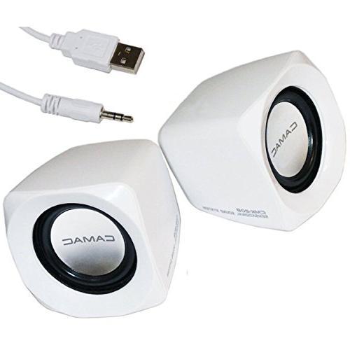 Portable Computer Speaker USB Powered Desktop Small Mini Spe