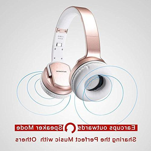 SODOLIFE in Bluetooth Headphone and Wireless with Mic Work Phones, with mode MH2