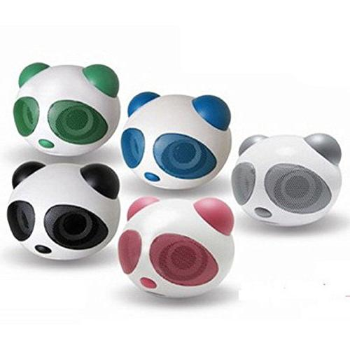 SSJ Panda Portable Multimedia Speaker - Works with PC , Smartphone Devices!