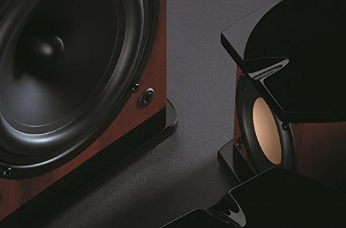 Swan - M20W - Beautiful Powered Living Laptop Speakers - Rosewood Aluminium Finish Internal