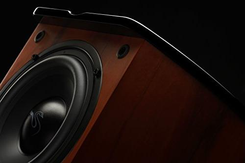 Swan - - Living Room Laptop - Subwoofer Rosewood with Aluminium Drivers Piano Finish - 50W RMS Internal