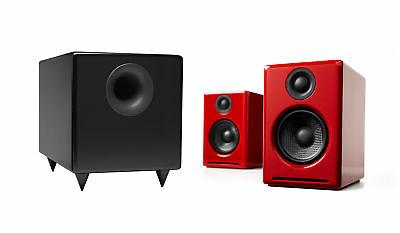 a2 red desktop speaker