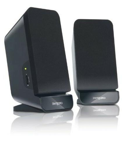Creative Speaker System,Black+Brand New....