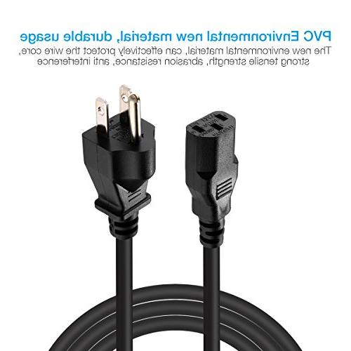 EBL AC Cable UL Listed Feet Universal Standard for Devices