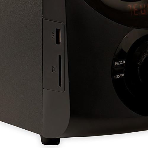 Acoustic Audio 2.1 Speaker System Tuner Multimedia