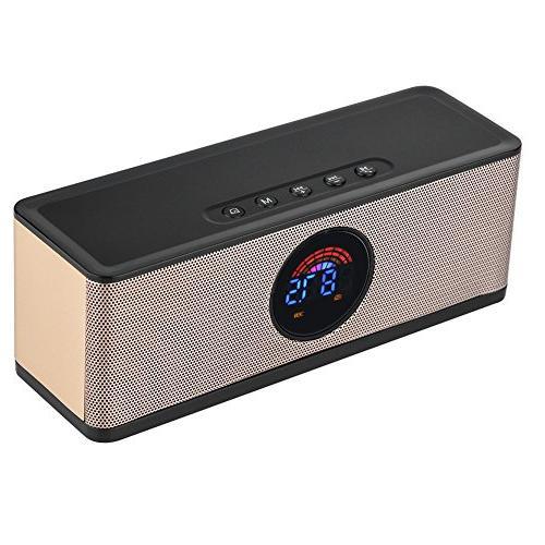 alarm clock bluetooth speaker