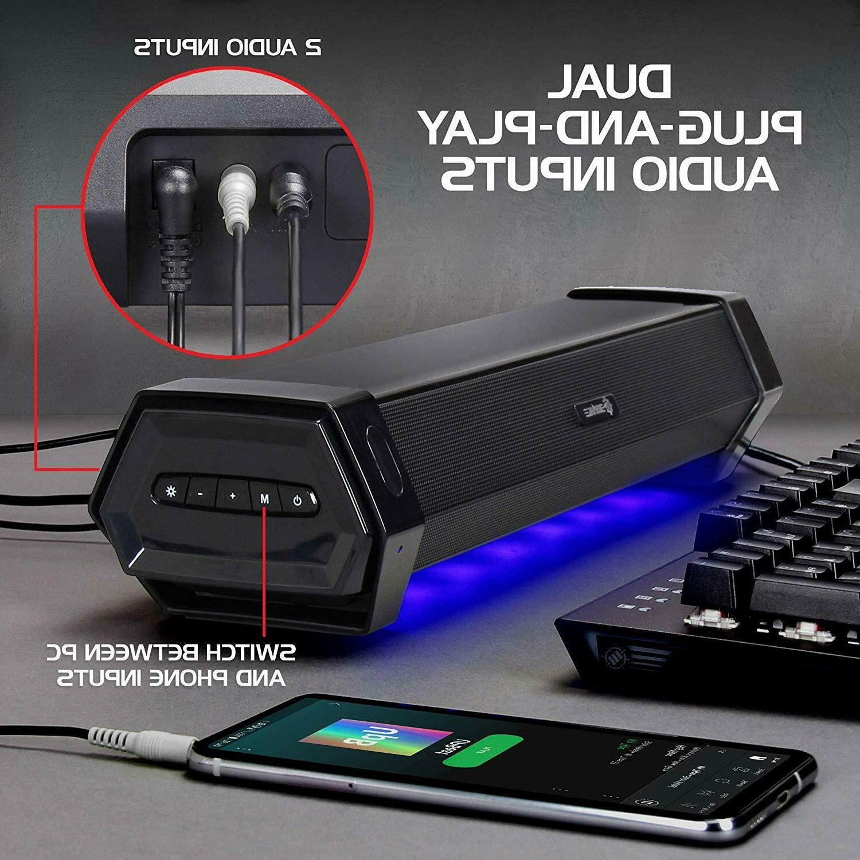 ENHANCE Soundbar PC Sound Speaker