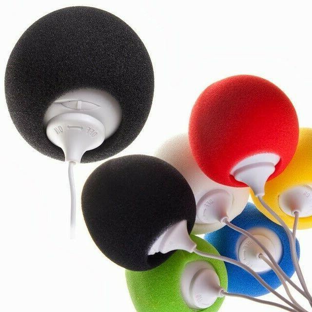 Audio Speaker Ball Rechargeable 3.5mm Dock iPhone, iPod, PC,