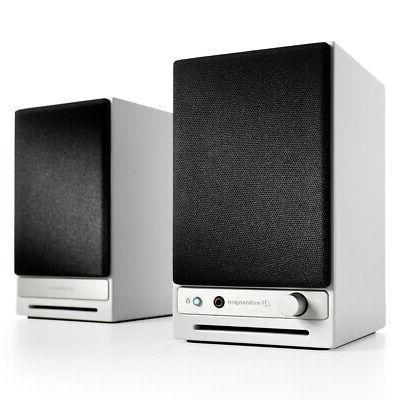 audioengine hd3 powered bookshelf speakers limited edition