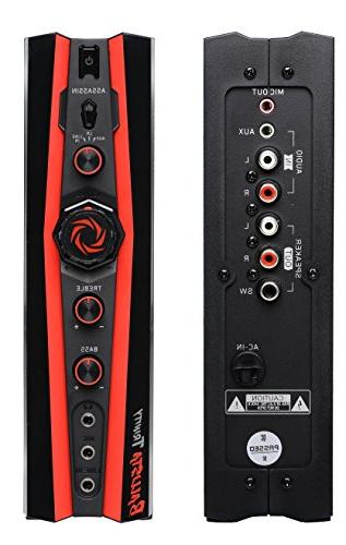 AVer Speaker W - Black, Red - - 20 USB - On/Off