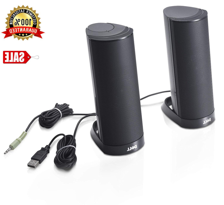 ax210 black usb stereo speaker