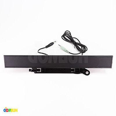 ax510pa computer monitor sound bar pc multimedia