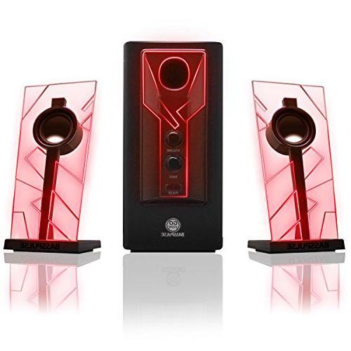 basspulse 2 1 computer speakers