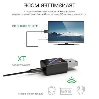 USB Adapter Headphone Speaker