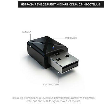Bluetooth USB Receiver Audio Transmitter TV/PC