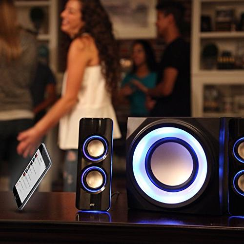 Cyber Bluetooth with The Perfect Party, Subwoofer Speaker