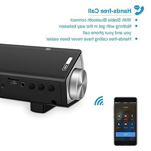 Bluetooth Wired and Speakers Portable Stereo PC Desktop iPhone iPad and Cellphones