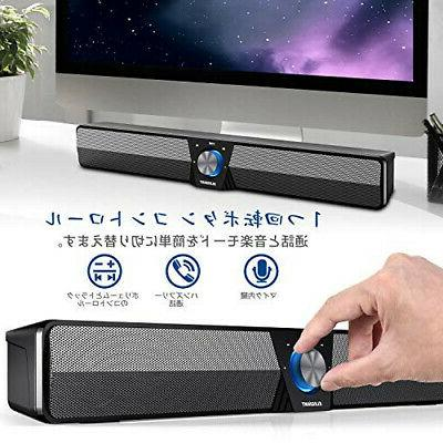 Bluetooth5.0 ELEGIANT PC SoundBar Spe